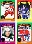2014-15 OPC Sticker Card **** PICK ONE CARD *** INSERTS SET (ST-51 to ST-100)