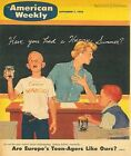 American Weekly Magazine September 7 1958 Are Europes Teenagers Like Ours?