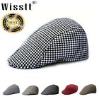 Newsboy Gatsby Cap Mens Ivy Solid Hats Golf Driving Flat Cabbie Beret Driver Hat