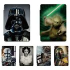 Star Wars Patterned Print Smart Cover Case For iPad 2 3 4 5 Air Mini Pro 343C $15.99 AUD