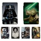 Star Wars Patterned Print Smart Cover Case For iPad 2 3 4 5 Air Mini Pro 343C $16.99 AUD