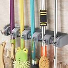 Kyпить Wall Mounted Non Slide Broom Mop Holder Home Kitchen Storage Bathroom Hanger на еВаy.соm
