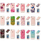 For iPhone SE 5 5s Soft Shockproof Rubber Glossy Light Practical Back Case Cover