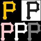 "6"" 10"" 12"" 18"" 23"" Pittsburgh Pirates P Car Window Wall Decal Sticker 6 COLORS"