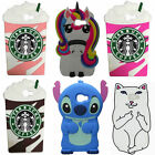 3D Cartoon Soft Silicone Back Case Cover For Samsung Galaxy  Huawei  LG K82017