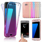 Shockproof 360° Silicone Clear Case Cover For Samsung Galaxy S9 S8 S7 edge