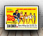 Dr No  : Vintage Bond movie advert, Wall art , poster, Reproduction. £10.99 GBP on eBay