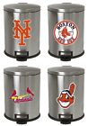 MLB Step Can 3.1 Gal Stainless Steel Trash Can Wastebasket w/Baseball Team Logo $94.88 USD on eBay