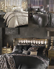 KYLIE MINOGUE BEDDING COVERS SATIN LOOK SEQUINS MAUVE BLACK NATURAL PLAIN CLEAR