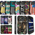 For LG X Venture H700 X Calibur V9 Rugged Case w/Stand Dual Layered Cover