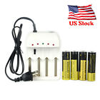 Rechargeable 501B&5301B LED Tactical Hunting Flashlight Hunt Lamp+18650+charger