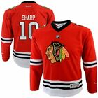 Chicago Blackhawks Youth Kids Patrick Sharp 10 Replica Home Jersey Red NHL