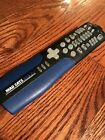 Mad Catz DVD 2 Remote Control Playstation 2 PS2 Controller Blue Back **TESTED