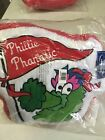 PHILLY PHANATIC PHILADELPHIA PHILLIES UNIQUE GLOVE SHAPED PILLOW FREE SHIPPING!! on Ebay