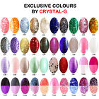 EXCLUSIVE STARTER KIT T&B+1COLOUR COLOURS BY CRYSTAL-G UV/LED GEL NAIL POLISH 1