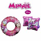Minnie Mouse Girls Armbands Swim Swimming Ring & Set Of Two Savings On Pool Aids