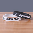 Linkin Park rock band Silicone Rubber Wristband bracelet jewelry new 1pcs