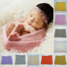 Newborn Baby Boys Girls Stretch Wrap Cute Photography Photo Prop Blanket Rug