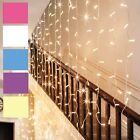 300 Led 3m Fairy Curtain String Lights Xmas Christmas Wedding Party Connectable