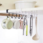 Kitchen Bathroom Storage Rack Cupboard Hanging Hook Hanger Organizer Holder