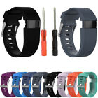 Silicone Replace Wrist Watch Band Bracelet W/Tool Strap For Fitbit Charge HR UAL