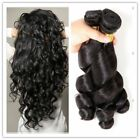 6A Virgin Loose wave Brazilian Hair Remy Human hair extension 1 Bundle/50g Weave