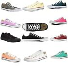 Converse all stars footwear - Womens Converse Shoes All Star Chuck Taylor Unisex Low Top Classic Sneakers NEW
