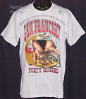 Vintage 1993 San Francisco SF NINERS 49ers SALEM T-Shirt NWT New Old Stock NOS