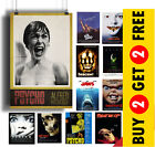 Horror Movie POSTERS A3 A4 Size Film Wall Art Print, Valentines Day, Home Decor