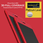 SOINEED Full Cover 3D Curved Tempered Glass Screen Protector For iPhone 7 7 Plus
