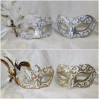 His and Hers Couples Masquerade Masks Prom Handcrafted Mask - Toscana Calabria