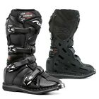 Forma Cougar motorcycle boots, youth, black, kids motocross offroad mx tech dirt