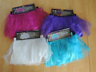 Sparkle Glitter Tutu ~ Pink Purple Blue White ~ Women's S/M Small Medium ~ NWT