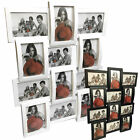 TheBigShip® Multi Aperture Photo Picture Frame - Holds 12 X 6X4 Inch Photos