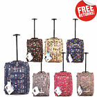 Wheeled Hand Luggage Travel Flight Cabin Suitcase Lightweight Carry On Womens