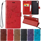 Butterfly Pattern Leather Card Pocket Stand Case For SONY Xperia Z5 Mini Z4 Z3
