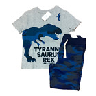 BABY GAP Boys Outfit Size 2T 3T 4T 5T NEW NWT TRex Camo Short Sleeve Tee Shorts