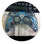 Front Shell Replacement Faceplate Transparent Case Cover for Xbox 360 Controller