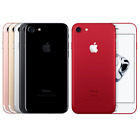 Apple iPhone7&7Plus&6 32/128/256GB Matte Black Rose Gold Silver Unlocked Phone+@