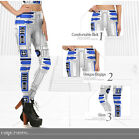 IAM R2-D2 R2D2 STAR WARS PRINT LADIES LEGGINGS PANTS COSTUME *NEW* RARE SALE! $29.0 AUD