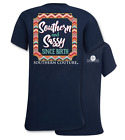 Southern Couture Preppy Southern & Sassy Since Birth Bright Girlie T-Shirt