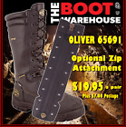 Oliver. 65691, Steel Toe Mining Work Boots.  - 'ZIP691' OPTIONAL ZIP ATTACHMENT!