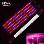 5pcs SMD5050 LED Grow Light Strip Lamp Full Spectrum For Plant Veg Flower DC 12V