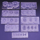 Nail Art UV Gel Silicone 3D Fimo Mold Design Acrylic Powder Set Tips Decorations