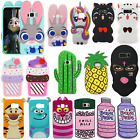 Cartoon Animals Opulent Silicone Gel Rubber Case Cover For Samsung A3 A5 A7 Note 8
