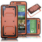 For HTC Desire 626 Hybrid ShockProof Armor Rubber Case Cover