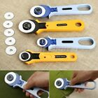 Round Cloth Cutting Knife Fabric Carpet Rug Leather Rotary Cutter Tailor's Tool
