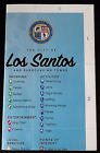 XBOX 360 PS3 PS4 XBOX ONE **GRAND THEFT AUTO 5 V** HUGE LOS SANTOS **MAP ONLY**