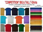 Big and Tall Solid Color T-Shirts - Sizes 5XL 6XL 7XL 8XL 9XL 10XL  image