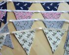 Brand New UNICORN Double Sided Bunting - various colours